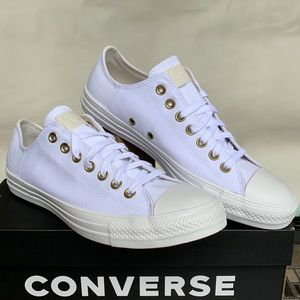 CONVERSE CTAS OX WHITE/PALE PUTTY/WHITE MENS